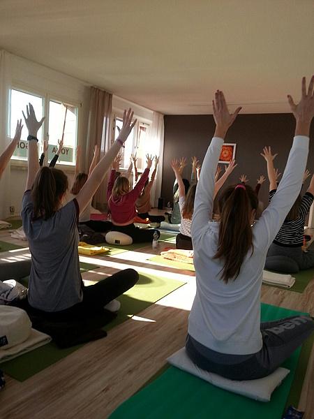 Entspannung Und Yoga Lingemann Gymnasium
